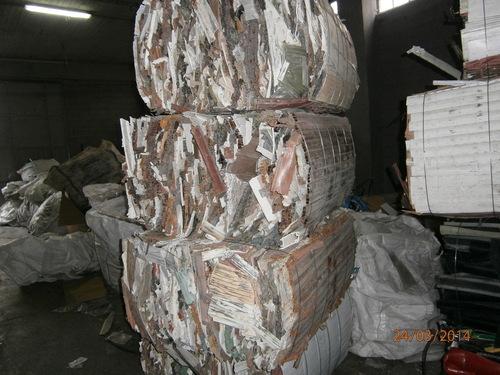 PVC Shutters Scrap Material