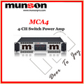 Digital 4 Channel Power Amplifier Mca4