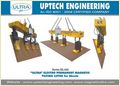 Magnetic Lifter Epm Type For Horizontal To Vertical Plate Handeling