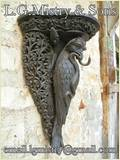 Wooden Carved Bracket