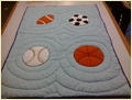 Sports Baby Quilt