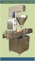 Automatic Auger Filling Machine For Bottles (Single Head)