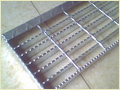Galvanized Serrated Steel Grate
