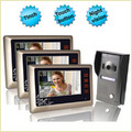 7 Inch Touch Button Video Door Phone