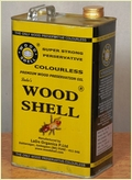 Wood Shell Colorless Wood Preservative