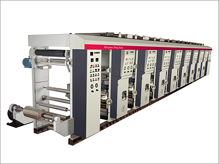 Rotogravure Printing Machine