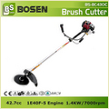 43cc 2-Stroke Side Attached Gasoline Grass Trimmer 