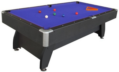 Pool Table With Deluxe Accessories AS-8004