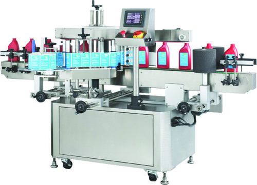 Shampoo Bottle Labeling Machine
