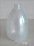 Pearled White Pet Bottles