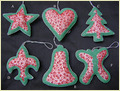 Beaded Christmas Decoration Items