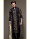 Irresistible Velvet Patch Kurta (Skb2111)
