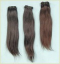Straight Wefted Natural Human Hair Extensions
