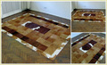 Leather Hairon Rugs/Leather Carpets