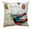 Cotton Industrial Fabric Cushion Cover - 45 Cm Sq.
