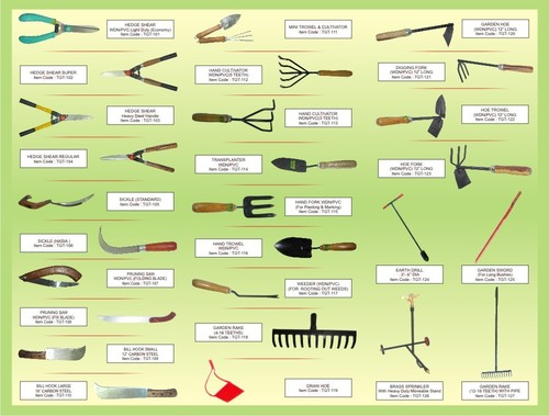 Top 28 list of common garden tools six essential for Common garden hand tools