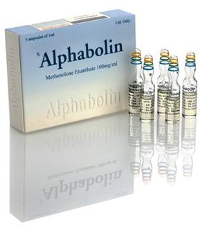 Alphabolin - Methe Enanth 100mg/Ml - Al100052