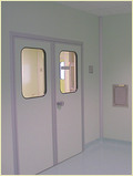 Clean Room Flush Doors