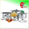 4pcs Stainless Steel Stock Pot Sets 2, Kitchenware, Casserole