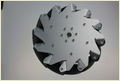 (10 Inch) 254mm Aluminum Mecanum Wheel Right