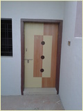 Colored Lamination Door