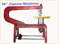 Throat Jigsaw Machine