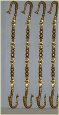 Stylish Brass Swing/Jhula Chain Set
