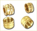 Brass Bsp / Npt Threaded Inserts