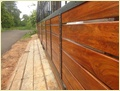 Timber Gate Panels