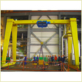 Single Girder Gantry Crane With Hoist