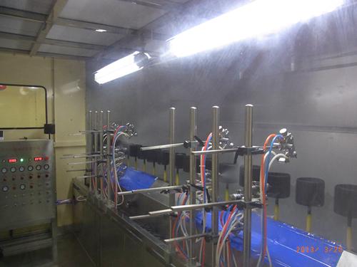 Dustfree Automatic Uv Spray Coating Line