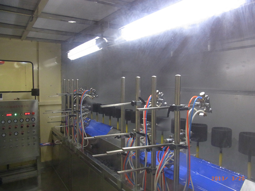 Dustfree Automatic UV Spray Coating Line