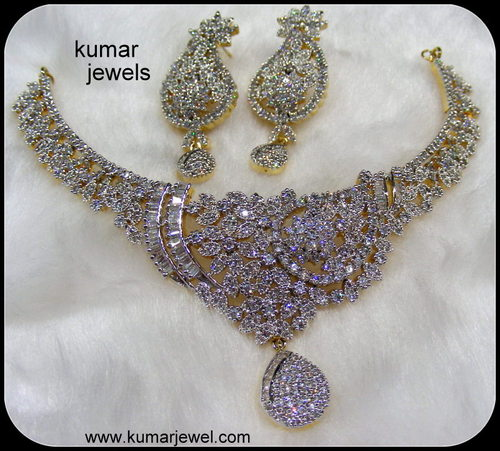 Chandelier Jhumki Earrings