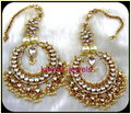 Big Kundan Earrings