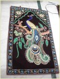 Zari Wall Hanging Peacock