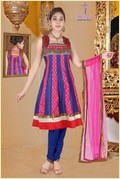 Dupin Silk Anarkali