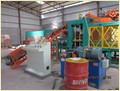 Automatic fly ash cement brick machine