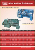 Lathe Machine (Norton Gear Box)