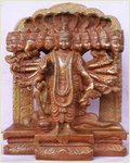 Lord Vishnu Metal Statue