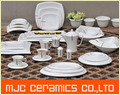 Square Ceramic Porcelain Dinnerware Tableware Sets