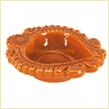 Diwali Diyas With Wide Designs