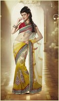 Yellow Summer Saree
