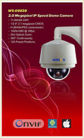 1080p 2m Ip Ptz Ir Speed Dome Camera