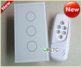 RF Remote Control Touch Light Switch 3 Way
