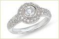 Heart Shape Silver Ring