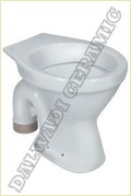 Commode S Trap Toilet