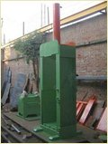 Single Hydraulic Bail Press
