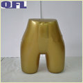 Female Panty Form In Gold