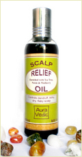 Auravedic Itchy Scalp Relief Hair Oil
