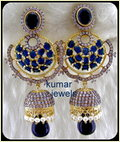 Navrattan Jadau Earring